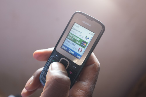 Mobile phones greatly expedite the data collection process
