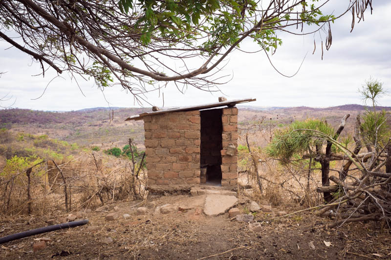 Latrines don't have to be fancy to make a big difference in the health of their communities.
