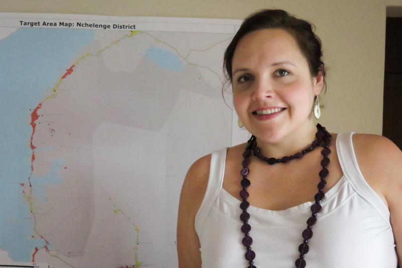 University of Montana student works with Akros in Zambia for her practicum