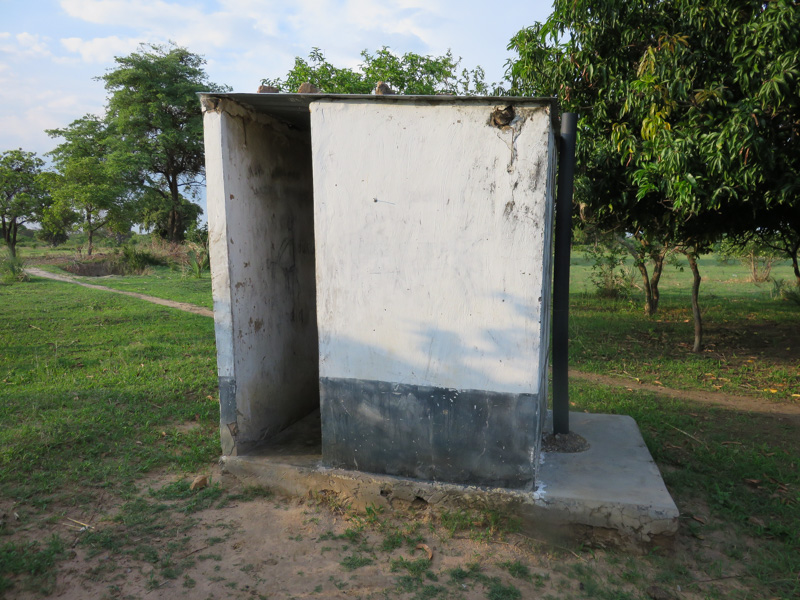 An example of latrine construction