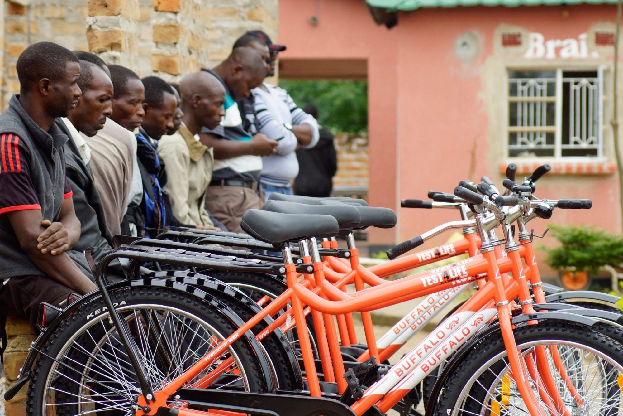Handover of over 1,000 bicycles for malaria elimination program