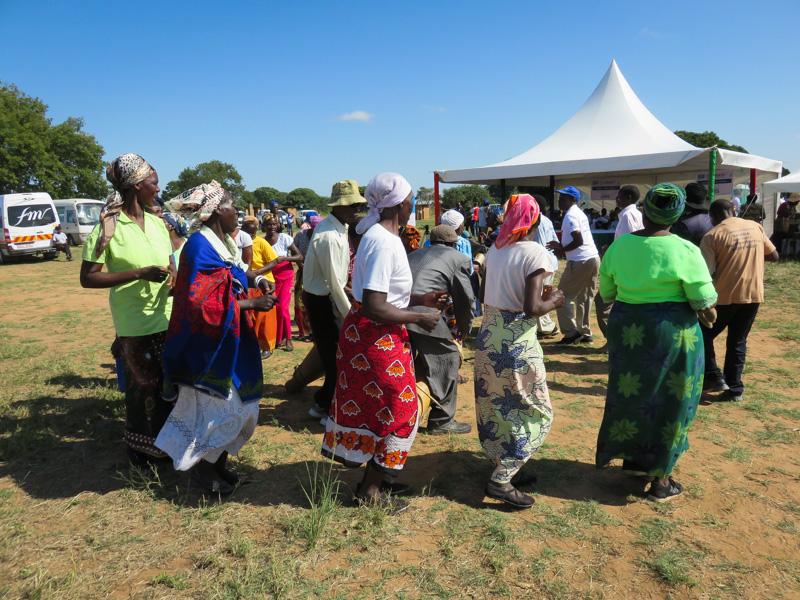 Community members present songs and dances-2