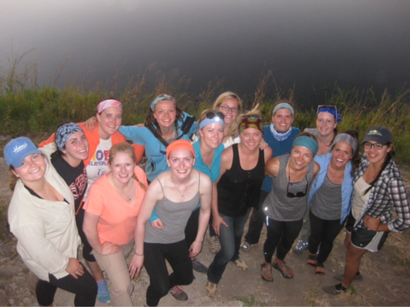 Montana State University Students visit Zambia for Community Health Course