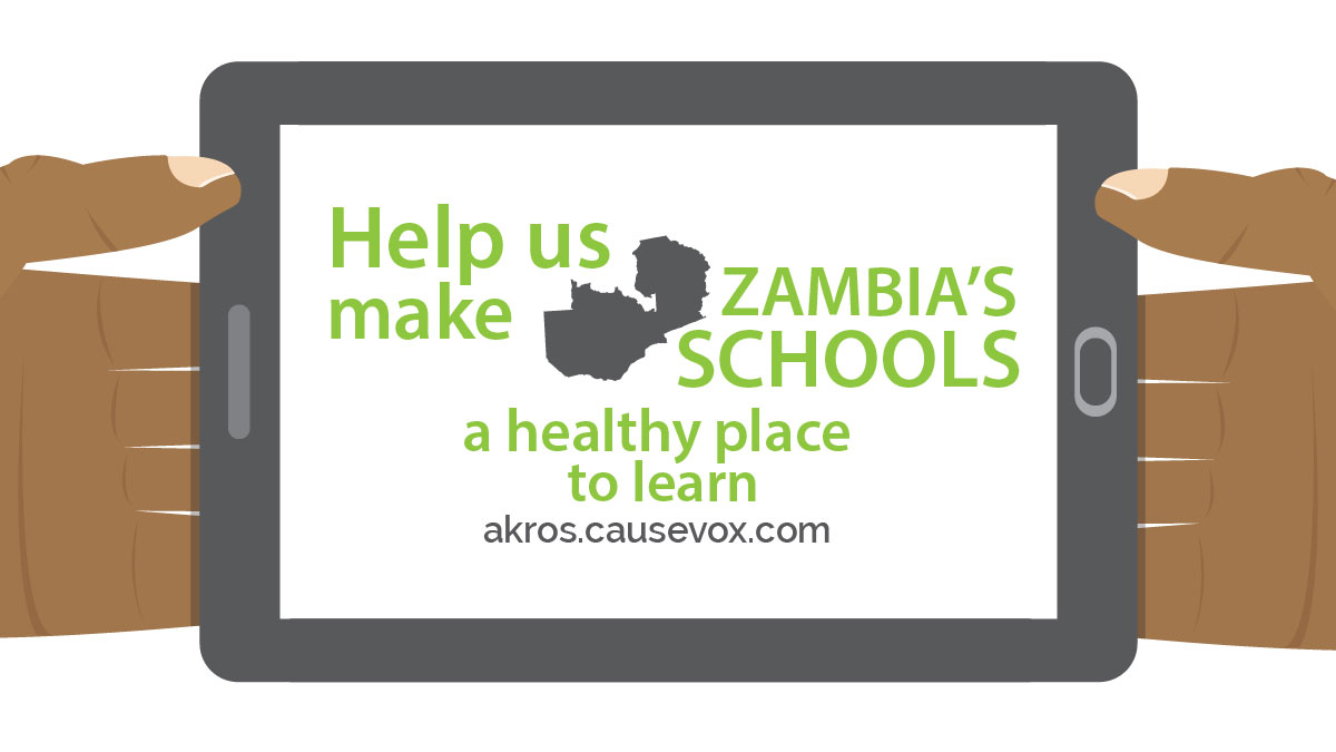 Crowdfunding for Zambia's Healthy Schools